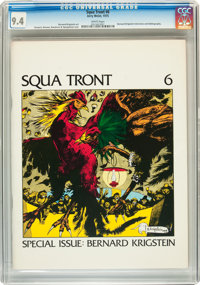 Squa Tront #6 (Jerry Weist, 1975) CGC NM 9.4 White pages