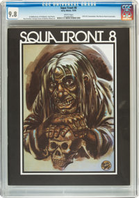 Squa Tront #8 (Jerry Weist, 1978) CGC NM/MT 9.8 White pages