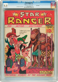 "Golden Age (1938-1955):Western, Star Ranger #4 Billy Wright pedigree (Harry ""A"" Chesler, 1937) CGCVG 4.0 Off-white to white pages...."