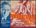 """Movie Posters:Crime, The Murder Man & Other Lot (MGM, 1935). Heralds (2) (6.75"""" X 9"""", fold out to 11.5"""" X 9""""). Crime.. ... (Total: 2 Items)"""