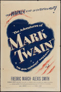 """Movie Posters:Adventure, The Adventures of Mark Twain and Other Lot (Warner Brothers, 1944).One Sheets (2) (27"""" X 41""""). Adventure.. ... (Total: 2 Items)"""