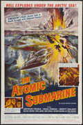 "Movie Posters:Science Fiction, The Atomic Submarine (Allied Artists, 1959). One Sheet (27"" X 41"").Science Fiction.. ..."