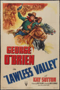 "Movie Posters:Western, Lawless Valley (RKO, R-1947). One Sheet (27"" X 41""). Western.. ..."