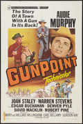 """Movie Posters:Western, Gunpoint and Other Lot (Universal, 1966). One Sheets (2) (27"""" X 41""""). Western.. ... (Total: 2 Items)"""