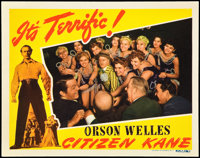 "Citizen Kane (RKO, 1941). Lobby Card (11"" X 14""). Drama"