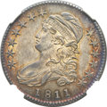 Bust Half Dollars, 1811 50C Small 8 MS64 NGC. O-105a, R.2....