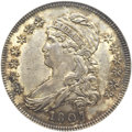 Bust Half Dollars, 1807 50C Capped Bust, Small Stars MS61 NGC. O-113a, R.3....