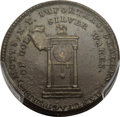 Colonials, 1789 TOKEN Mott Token, Cent Weight MS63 Brown PCGS. CAC.Breen-1022....