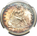 Proof Seated Quarters, 1884 25C PR66 NGC....