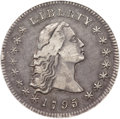 Early Dollars, 1795 $1 Flowing Hair, Two Leaves XF40 NGC. B-2, BB-20, R.3....