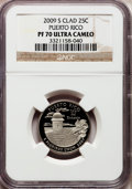 Proof Statehood Quarters, 2009-S 25C Puerto Rico PR70 Ultra Cameo NGC. NGC Census: (0). PCGSPopulation (449). Numismedia Wsl. Price for problem fre...