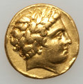 Ancients:Greek, Ancients: MACEDONIAN KINGDOM. Philip II (359-336 BC). AV stater(8.45 gm). ...
