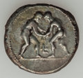 Ancients:Greek, Ancients: PAMPHYLIA. Aspendus. Ca. 330/25-300/250 BC. AR stater(10.49 gm)....