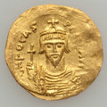 Ancients:Byzantine, Ancients: Phocas (602-610). AV solidus (4.43 gm). ...