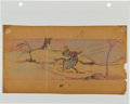 Animation Art:Production Drawing, The Grasshopper and the Ant Concept Sketch Animation Art(Disney, 1934)....