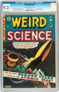 Golden Age (1938-1955):Science Fiction, Weird Science #5 (EC, 1951) CGC NM- 9.2 Cream to off-whitepages....