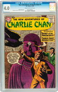 Silver Age (1956-1969):Mystery, The New Adventures of Charlie Chan #1 (DC, 1958) CGC VG 4.0 Creamto off-white pages....