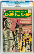 Silver Age (1956-1969):Mystery, The New Adventures of Charlie Chan #2 (DC, 1958) CGC VF- 7.5 Creamto off-white pages....