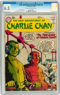 Silver Age (1956-1969):Mystery, The New Adventures of Charlie Chan #3 (DC, 1958) CGC FN+ 6.5 Creamto off-white pages....