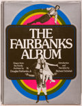 Books:Photography, Douglas Fairbanks Jr. SIGNED and WITH HIS BOOKPLATE. The Fairbanks Album. Boston: New York Graphic Society, [1975]. First ed...