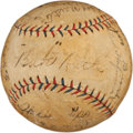 Autographs:Baseballs, 1924 New York Yankees Team Signed Baseball....