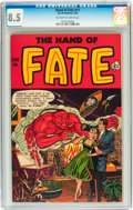 Golden Age (1938-1955):Horror, The Hand of Fate #11 (Ace, 1952) CGC VF+ 8.5 Off-white to whitepages....