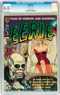 Golden Age (1938-1955):Horror, Eerie #1 (1951) (Avon, 1951) CGC FN 6.0 Off-white pages....