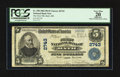 National Bank Notes:Maine, Bath, ME - $5 1902 Plain Back Fr. 598 The First NB Ch. # 2743. ...
