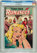 Golden Age (1938-1955):Romance, Teen-Age Romances #13 (St. John, 1950) CGC VG- 3.5 Cream tooff-white pages....