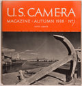 Books:Photography, [Magazines]. U. S. Camera Magazine. New York: U. S. Camera Publishing Corp., 1938-1939. First editions of the f... (Total: 6 Items)