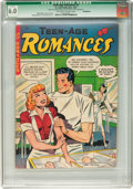Golden Age (1938-1955):Romance, Teen-Age Romances #2 Incomplete (St. John, 1949) CGC Qualified FN6.0 Off-white to white pages....