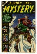 Golden Age (1938-1955):Horror, Journey Into Mystery #13 White Mountain pedigree (Marvel, 1953)Condition: VG....