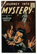 Silver Age (1956-1969):Horror, Journey Into Mystery #44 White Mountain pedigree (Marvel, 1957)Condition: VG/FN....