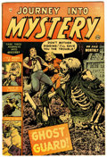 Golden Age (1938-1955):Horror, Journey Into Mystery #7 (Marvel, 1953) Condition: GD+....