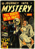 Golden Age (1938-1955):Horror, Journey Into Mystery #6 (Marvel, 1953) Condition: GD....