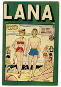 Golden Age (1938-1955):Humor, Lana #7 (Timely, 1949) Condition: VG/FN....