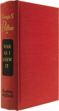 Books:Signed Editions, George S. Patton, Jr.: Signed War As I Knew It. (Boston:Houghton Mifflin Company, 1947), 425 pages, red cloth with gilt...(Total: 1 Item)