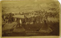 Photography:Cabinet Photos, CABINET OF THE GRAND COUNCIL OF HOSTILE AND FRIENDLY SIOUX INDIANCHIEFS. The last uprising of the Sioux which occured durin...(Total: 1 Item)