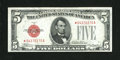 Small Size:Legal Tender Notes, Fr. 1527* $5 1928B Legal Tender Note. About Uncirculated.. ...