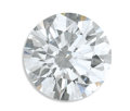 Estate Jewelry:Other , Unmounted Diamond. The round brilliant-cut diamond measures 6.46 -6.51 x 3.96 mm weighs 1.01 carats. A GIA Gem Trade Labo...