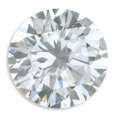 Estate Jewelry:Other , Unmounted Diamond. The round brilliant-cut diamond measures 6.95 -7.03 x 4.26 mm and weighs 1.27 carats. A GIA Gem Trade ...