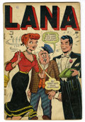 Golden Age (1938-1955):Humor, Lana #2 (Timely, 1948) Condition: VG-....