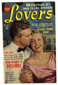 Golden Age (1938-1955):Romance, Lovers #28 (Atlas, 1950) Condition: FN/VF....