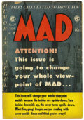 Magazines:Mad, Mad #17 and 22 Group (EC, 1954-55) Condition: Average GD/VG....(Total: 2 Comic Books)