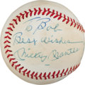 Autographs:Baseballs, 1970's Mickey Mantle Single Signed Baseball....