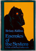 Books:Science Fiction & Fantasy, [Jerry Weist]. Brian W. Aldiss. SIGNED. Enemies of the System. New York: Harper & Row, [1978]. First edition, first ...