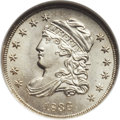 Bust Half Dimes, 1836 H10C Small 5C MS67 NGC. V-2, LM-4, R.2....