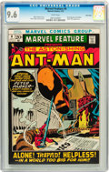 Bronze Age (1970-1979):Adventure, Marvel Feature #4 Ant-Man - Twin Cities pedigree (Marvel, 1972) CGC NM+ 9.6 White pages....