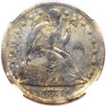 Seated Dollars, 1871-CC $1 -- Improperly Cleaned, Stained -- NGC Details. XF....