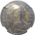 Early Half Dollars, 1806 50C Pointed 6, No Stem -- Environmental Damage -- NGC Details.AU. O-109, R.1....